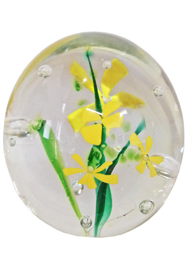 daisies cremation nugget by lorna reade at ashes in glass